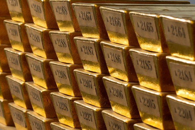Gold in den Bilanzen der Bundesbank
